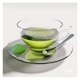 Grüner Tee w Rand hjm